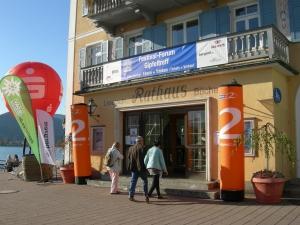 Bergfilm-Festival Tegernsee 2017 - Eingang zum Gipfeltreff