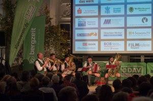 Bergfilmfestival Tegernsee 2017 Siegerehrung Barocksaal; musikalische Umrahmung mit der Riedestoa Musi (Foto: Thomas Plettenberg)