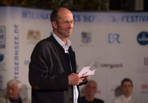 Bergfilmfestival Tegernsee 2017 Siegerehrung Barocksaal; Festival-Direktor Michael Pause (Foto: Thomas Plettenberg)