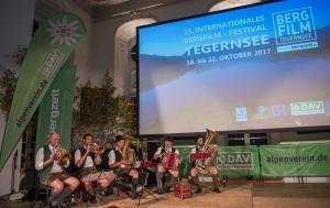 Bergfilmfestival Tegernsee 2017 Siegerehrung Barocksaal; musikalische Umrahmung mit der Riederstoa Musi (Foto: Thomas Plettenberg)