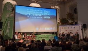 Bergfilmfestival Tegernsee 2017 Siegerehrung Barocksaal (Foto: Thomas Plettenberg)