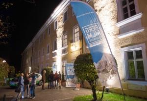 Eingang zum Barocksaal bei der Eröffnung des Festivals. (Foto: Thomas Plettenberg)