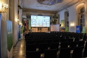 Bergfilm-Festival Tegernsee 2018 - Barocksaal - kurz vor der Eröffnung