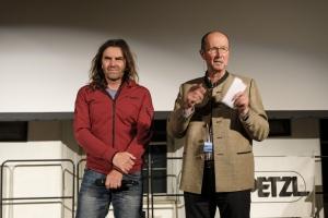 Bergfilm-Festival Tegernsee 2018 - Eröffnung - Thomas Huber und Michael Pause im Gespräch
