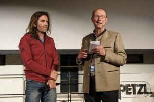 Bergfilm-Festival Tegernsee 2018 - Eröffnung - Thomas Huber und Michael Pause