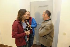 Bergfilm-Festival Tegernsee 2018 - Eröffnung - Thomas Huber im Gespräch mit Michael Pause, Festivaldirektor