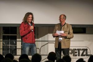 Bergfilm-Festival Tegernsee 2018 - Thomas Huber und Michael Pause