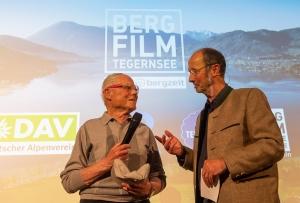 Michael Pause - Festivaldirektor - im Gespräch mit Toni Sponar