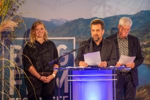 Bergfilmfestival  am Tegernsee 2021 Preisverleihung am 16. Oktober im Barocksaal Schloss Tegernsee