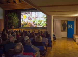 im Ludwig-Thoma-Saal am ersten Festivalabend (Foto: Thomas Plettenberg)