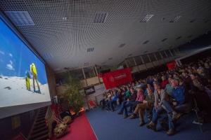 """Am ersten Festivaltag im Medius bei """"Kirgisistan - Die Augen Gottes"""" und """"Inside Iran"""" (Foto: Thomas Plettenberg)"""
