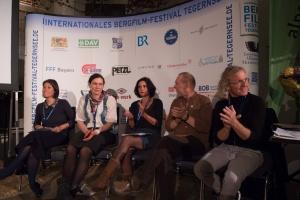 Die Jury 2016: Ingrid Runggaldier (Italien), Carla Braun-Elwert (Neuseeland), Lisa Röösli (Schweiz), Dr. Peter-Hugo Scholz (Deutschland), Adi Stocker (Österreich) (Foto: Thomas Plettenberg)
