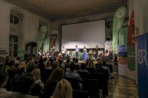Ein Blick in den Barocksaal während des Abschlussabends zum Bergfilm-Festival