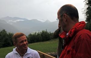 Luis Stitzinger und Michael Pause im Gespräch