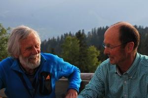 Gipfeltreff auf der Neureuth - 2. Mai 2018 - Sigi Hupfauer, Michael Pause