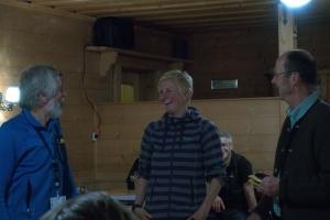 Gipfeltreff auf der Neureuth - 2. Mai 2018 - Sigi Hupfauer, Ulla Schultz, Michael Pause