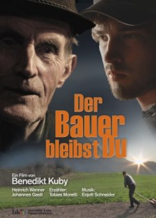 Filmplakat von 'Der Bauer bleibst Du'