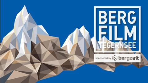 Kristallberge und Logo des Bergfilm Festivals Tegernsee 2017