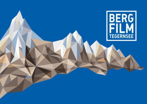 Kristallberge und Logo des Bergfilm Festivals Tegernsee 2020